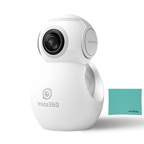 Insta360 Air Compact Mini Panorama 360 Grad 3K HD Kamera Dual Weitwinkel-Fischaugen-Objektiv VR Modus für OPPO R9 / Huawei P9 Mate9 / LG V20 Andriod Smartphone