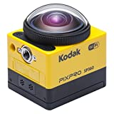 Kodak SP360 Extreme Pixpro Action Kamera inklusiv Extreme Kit gelb/ schwarz