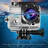 Action Kamera,LESHP 4K Wifi Aktion Cam Wasserdichte Kamera Helmkamera Full HD 1080P 170 Grad Weitwinkel Action Digitalkamera with 2,0 Zoll LCD Bildschirm Kamera Wasserdicht Unterwasserkamera Cybershot Go Pro Kameras