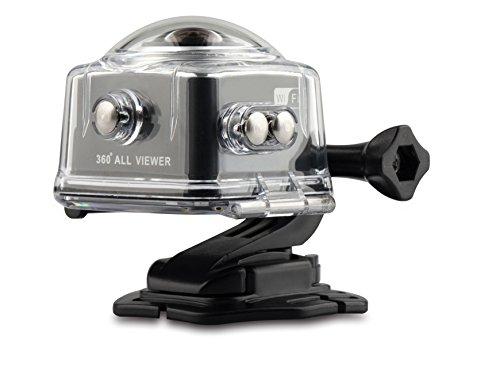JOYCAM 360 Grad WiFi Action Camera 30 m Unterwasser HD 1080p mit 1,5 Zoll LCD-Bildschirm für Outdoor-Sportarten