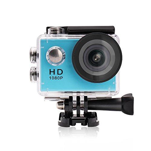 "Yuntab A9 kamera Action Full HD 1080p Kamera Wasserdicht 2.0"" LCD 120° Objektiv DVR Outdoor Action Camera Sport Kamera Tauchen und Kostenlosen Zubehör Kits mit Ladegerät"