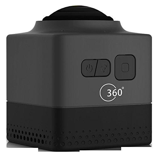 ssstar Cube 360Sport Video Kamera Wifi H.264360Grad Panorama Kamera 360x 190° Großer Panorama Shot Sport Kamera, schwarz